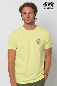 Animal Limelight Yellow Slave Deluxe Graphic T-Shirt