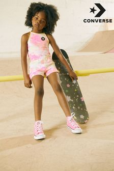Converse Infant Pink Chuck Taylor All Star High Trainers