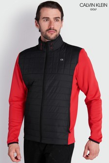 Calvin Klein Golf紅色Vardon混合型夾克