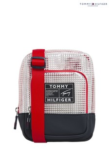 Tommy Hilfiger White Youth Reporter Bag