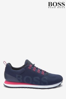 BOSS Blue Parkour Trainers