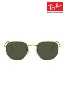 نظارات شمسية سداسية بعدسة مسطحة منRay-Ban