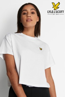 Lyle & Scott Womens Cropped T-Shirt