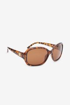 Stredne hranaté polarizačné slnečné okuliare