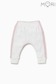 Pantaloni MORI Yoga roz