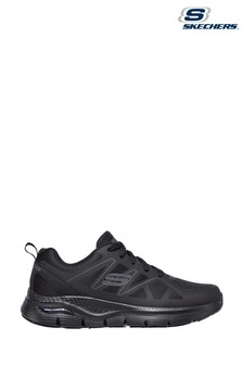Skechers Black Arch Fit Axtell Slip Resistant Trainers