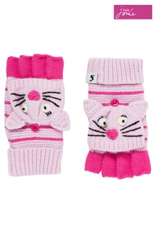 Joules Purple Chummy Character Convertor Gloves