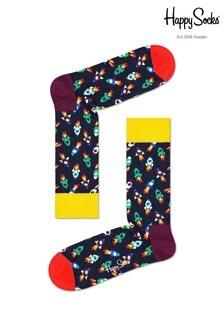 Happy Socks Mens Rocket Socks