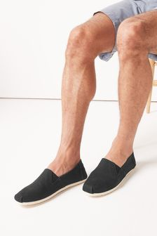 Canvas A-Line Slip-Ons