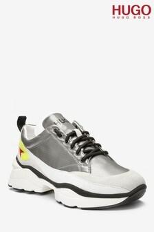 נעלי ספורט דגם Mia בצבע אפור של HUGO