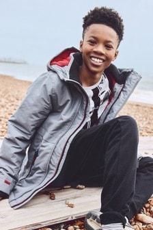 Deszczoodporna kurtka z ciepłym wypełnieniem (3-16 lat)