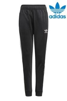 Черные спортивные брюки adidas Originals Superstar