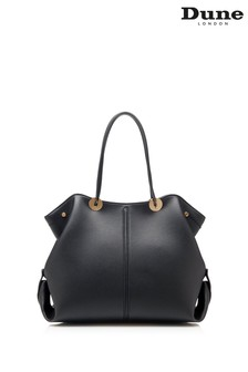 Dune London Black Dernlie Large Slouch Shoulder Bag