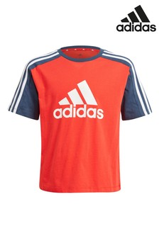 adidas Red Block T-Shirt