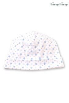 Kissy Kissy White Star Print Hat