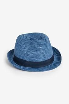 Slamený klobúk typu Trilby (Mladší)