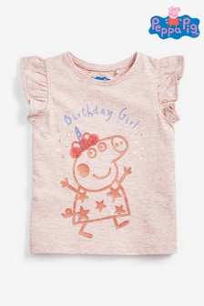 Peppa Pig™ Licence Birthday T-Shirt (3mths-7yrs)