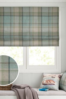 Marlow Woven Check Blind
