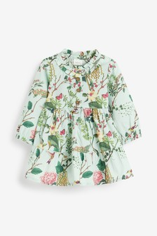 Cotton Tiered Dress (3mths-7yrs)