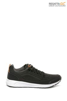 Regatta Black Ashcroft Trainers