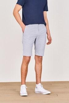Fine Stripe Chino Shorts