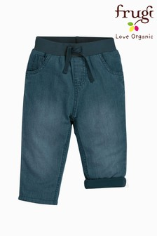 Frugi Organic Cotton Light And Soft Lined Chambray Jeans