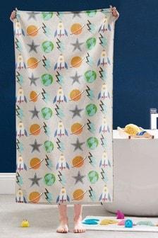 Handtücher mit Weltall-Motiv