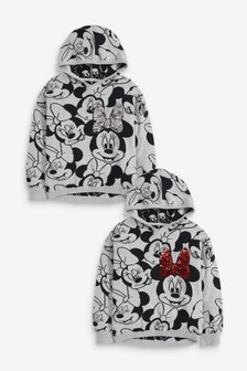 Minnie Mouse™ Sequin Licence Knitted Hoody (3-16yrs)