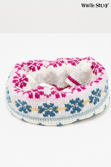 White Stuff Natural Kids Winter Frost Snood