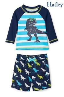 סט בגד גוף של Hatley דגם Cool T-Rex Baby