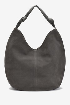Suede Slouchy Hobo Bag