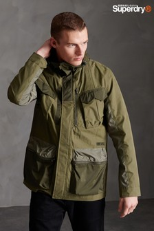 Superdry Khaki Four Pocket Jacket
