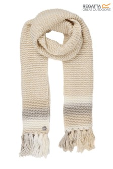 Regatta Cream Frosty IV Fringed Scarf