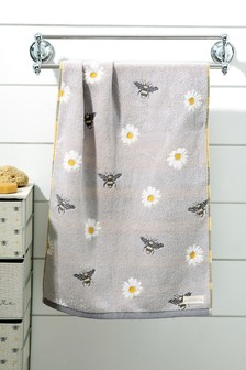 Bee And Daisy Towel
