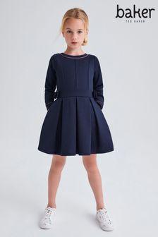 Темно-синее платье Baker by Ted Baker