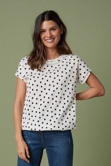 T-shirt à ourlet boule