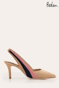 Boden Brown Louisa Slingback Shoes