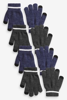 Набор из 4 пар перчаток Magic (Подростки)