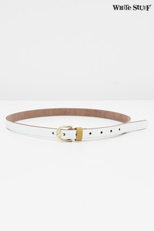 White Stuff Metallic Leather Jeans Belt