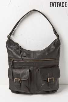 FatFace Black Amanda Shoulder Bag
