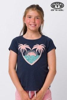 Animal Abella T-Shirt mit Grafik, Blau