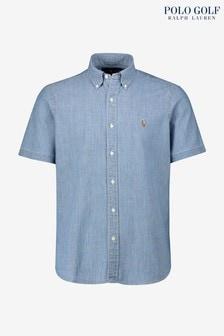 Polo Golf by Ralph Lauren Chambray Short Sleeve Shirt