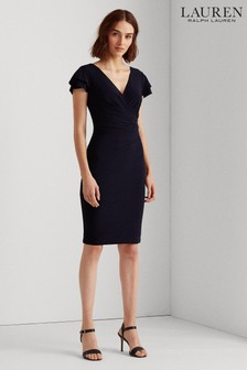 Ralph Lauren Navy Midweight Dress