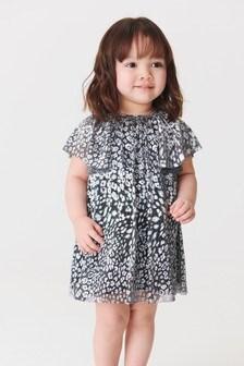 Metallic Print Dress (3mths-7yrs)
