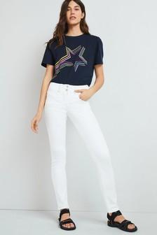 Formujúce, tvarujúce, zužujúce džínsy