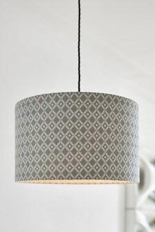 幾何圖案燈罩