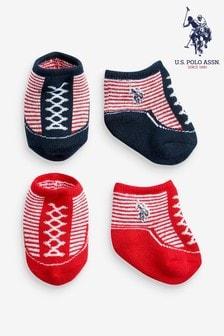 U.S. Polo Assn. Stars & Stripes Bootie Set