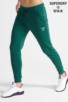 Superdry Sport Green Training Sport Joggers
