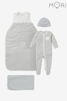 MORI White Clever Sleep Set