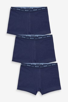 3 Pack Modesty Shorts (2-16yrs)